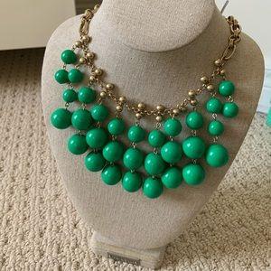 Stella & Dot Green Jolie Necklace
